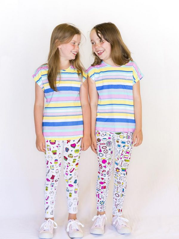 colour in your own kids adventure pants
