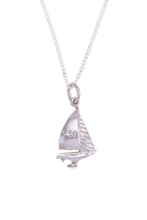 boat ship necklace